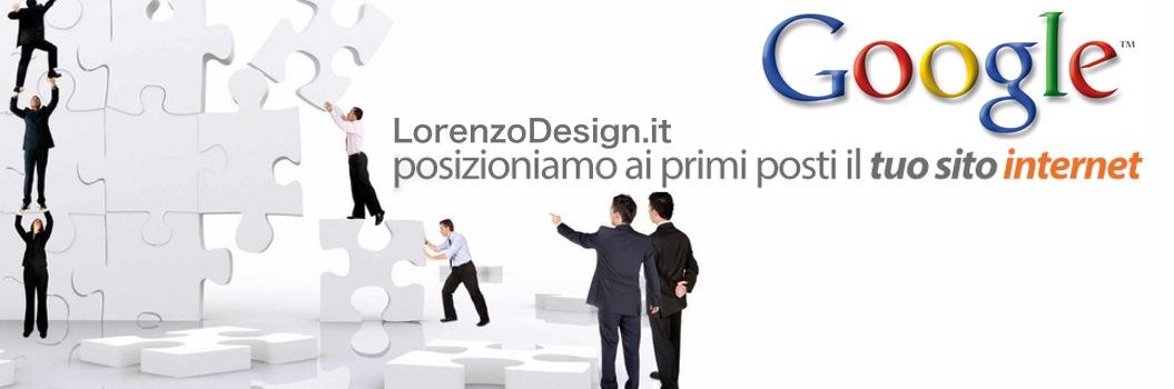 Posizionamento su Google, Risultati Organici di Google LorenzoDesign.it