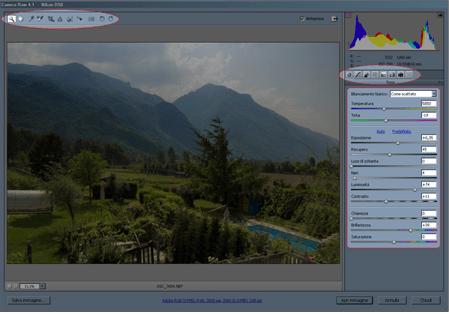 Camera RAW di Photoshop CS