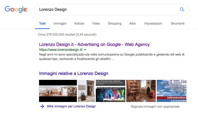 Posizionarsi nella prima pagina di Google