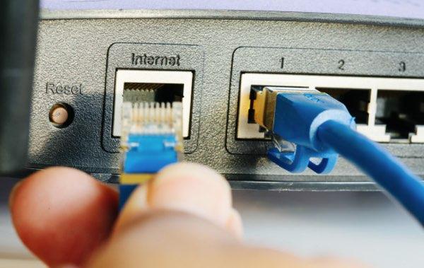 Cablaggio dei cavi ethernet LAN