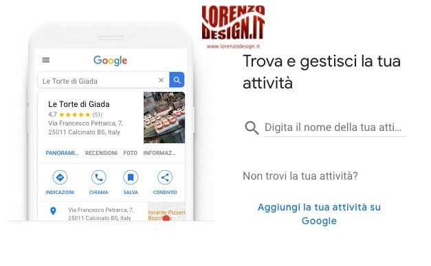Configurazione Google My Business