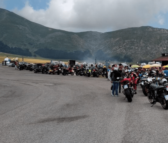Fonte Vetica ed i ristori per motociclisti